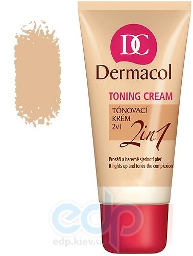 Dermacol Toning Cream 2in1 Тональний крем легкий увлажняющий 2в1 Natural - 30 ml (15637)
