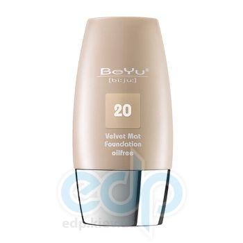 Тональный крем с матирующим эффектом BeYu - Velvet №20 Light Toffee