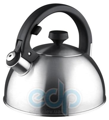 Vinzer (посуда) Vinzer -  Чайник LUXOR - нержавеющая сталь, 2,6 л, свисток (арт. 89005)