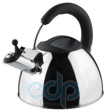 Vinzer (посуда) Vinzer -  Чайник SOPRANO - нержавеющая сталь, 2,5 л, свисток (арт. 69010)