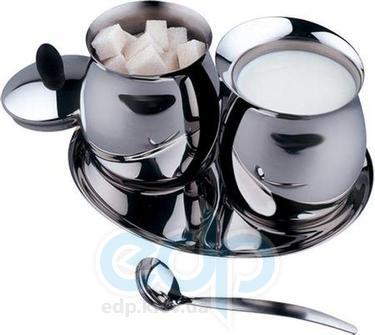 Vinzer (посуда) Vinzer -  Молочник и сахарница - нержавеющая сталь (арт. 69247)