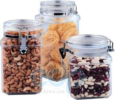 Vinzer (посуда) Vinzer -  Емкость для пищевых продуктов - акрил, герметическая крышка, объем - 1100мл (арт. 69259)