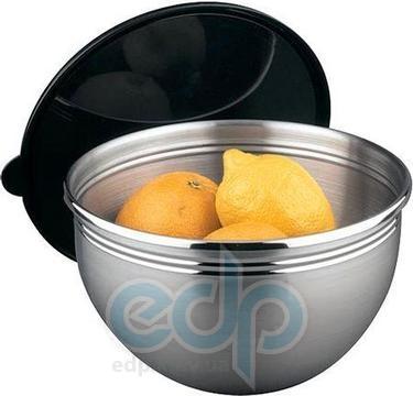 Vinzer (посуда) Vinzer -  Салатница - нержавеющая сталь, 2,5 л с крышкой (арт. 69283)
