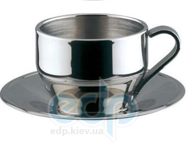 Vinzer (посуда) Vinzer -  Чашка для Эспрессо - нержавеющая сталь, двойная стенка, 120 мл (арт. 69285)