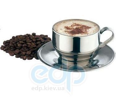 Vinzer (посуда) Vinzer -  Чашка для Каппучино - нержавеющая сталь, двойная стенка, 240 мл (арт. 69286)