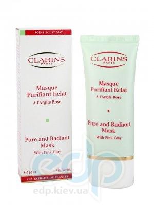 Clarins - Очищающая стимулирующая маска на основе розовой глины - 50 ml