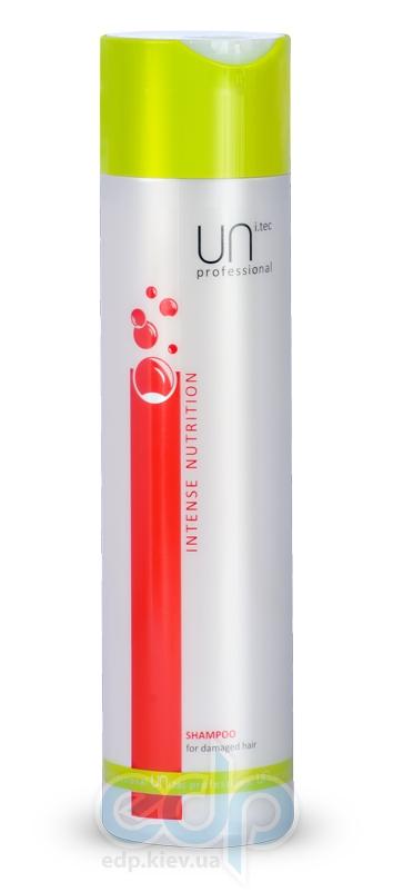 Шампунь для поврежденных волос UNi.tec Professional - Intense Nutrition - 250 ml (17130)