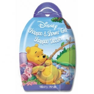 Admiranda Winnie The Pooh -  Шампунь-гель для душа с ароматом черники -  300ml (арт. AM 71365)