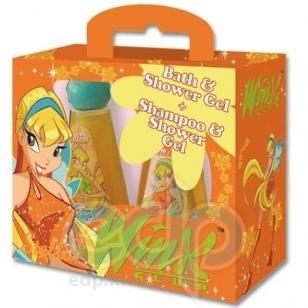 Admiranda Winx Club -  Набор Stella (гель для душа 300 + шампунь-гель для душа розовая сахарная глазурь 300) (арт. AM 76060-3)
