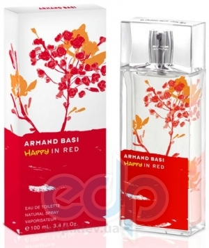 Armand Basi Happy In Red - туалетная вода - 30 ml