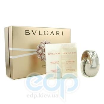 Bvlgari Omnia Crystalline -  Набор (туалетная вода 40 + лосьон-молочко для тела 75 + гель для душа 75)