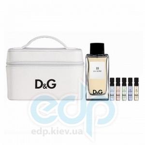 Dolce Gabbana Anthology La Lune 18 - туалетная вода -  Набор (туалетная вода 100 + виалка 5*1,5 мл + сумка)