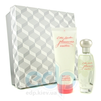 Estee Lauder Pleasures Exotic -  Набор (парфюмированная вода 30 + лосьон-молочко для тела 75)