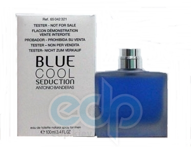 Antonio Banderas Blue Cool Seduction for Men - туалетная вода - 100 ml TESTER