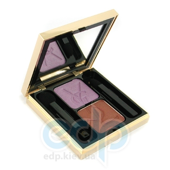 Тени для век Yves Saint Laurent -  Ombres Duolumieres №29 Purple Amethyst/ Tawny Brown TESTER