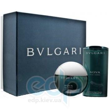 Bvlgari Aqva Pour Homme -  Набор (туалетная вода 100 + гель для душа 200)