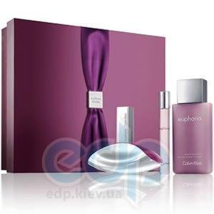 Calvin Klein Euphoria -  Набор (парфюмированная вода 50 + edp 10 + лосьон-молочко для тела 100)