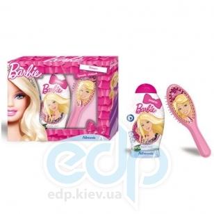 Admiranda Barbie - Набор подарочный (Шампунь для волос Barbie 250 ml+Расческа для волос 2D Barbie) (арт. AM 72559)