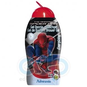 Admiranda Spider-Man - Гель для душа с экстрактом женьшеня и маслом ореха баобаба - 300 ml (арт. AM 73621)