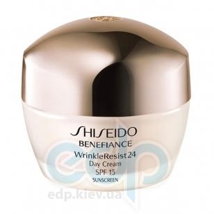 Крем для лица дневной с комплексом против морщин для сухой кожи Shiseido - Benefiance WrinkleResist24 Day Cream - 50 ml SH 10307