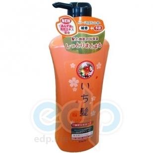 Kanedo Бальзам-ополаскиватель для поврежденных волос интенсивно увлажняющий с экстрактом масла абрикоса - Ichikami - 530 ml (KN 72094)