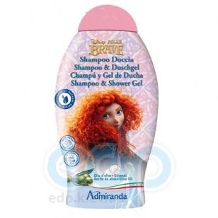 Admiranda Disney Brave - Шампунь для волос с экстрактом оливкового масла - 250 ml (арт. AM 71301)