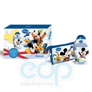 Admiranda Mickey Mouse - Набор подарочный (Шампунь для волос с экстрактом масла оливы и алоэ-вера Mickey Mouse 250 ml + косметичка) (арт. AM 71066)