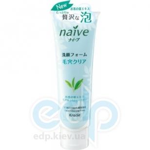 Kanebo Пенка для умывания и снятия макияжа с экстрактом чайного листа для комбинированной и жирной кожи Naive - 110 g (KN 67383)