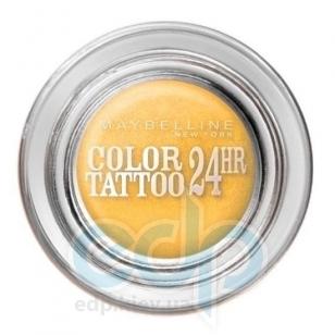 Тени для век кремово-гелевые 1-цветные Maybelline - Color Tattoo 24h №05 Вечный золотой - 9 ml