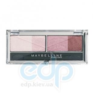 Тени для век 4-цветные компактные Maybelline - EyesStudio №01 Околдовывающие розы - 5 g