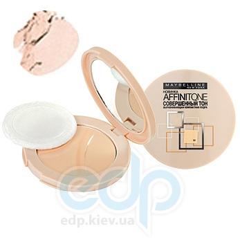 Пудра для лица выравнивающая, компактная Maybelline - Affinitone №09 Розово-опаловый - 9 g