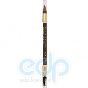 Карандаш для бровей со щеточкой L'Oreal - Color Riche №302 Золотисто-коричневый - 4 g