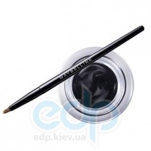 Подводка для глаз гелевая Maybelline - EyeStudio Lasting Drama Gel Eyeliner 24h №07 Черный хром - 4.5 g
