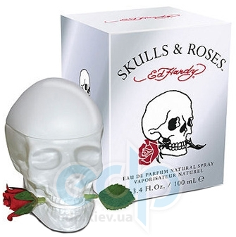 Christian Audigier Ed Hardy Skulls & Roses for Her - парфюмированная вода - 100 ml