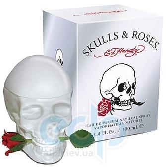 Christian Audigier Ed Hardy Skulls & Roses for Her - парфюмированная вода - 30 ml