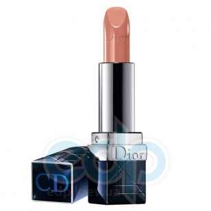 Помада для губ увлажняющая, придающая натуральный оттенок с эффектом бальзама Christian Dior - Rouge Dior Nude №319 Trench - 3.5g