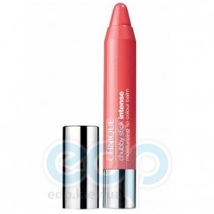 Помада-бальзам для губ интенсивно увлажняющая, придающая насыщенный оттенок Clinique - Chubby Stick Intense Moisturizing Lip Colour Balm №04 Heftiest Hibiscus - 3g