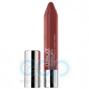 Помада-бальзам для губ интенсивно увлажняющий, устойчивый Clinique - Chubby Stick Moisturizing Lip Colour Balm №10 Bountiful Blush - 3g