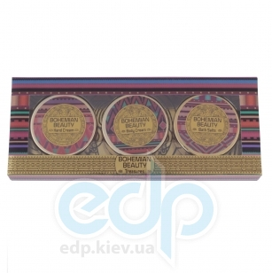 Mades Cosmetics - Bohemian Beauty с ароматом богемный близ - Набор (крем для тела 50 ml+крем для рук 50 ml+соль для ванны 50 g)