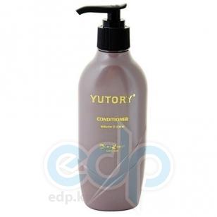 Satico - Кондиционер для тонких, ослабленных волос, восстанавливающий с эффектом увеличения объема и придания блеска волосам волосам с включением казеина Satico Yutory Volume & Shine Conditioner - 180