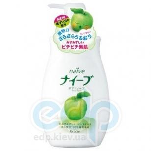 Kanebo Мыло для тела жидкое с экстрактом яблока для всех типов кожи - Naive Apple Body Soap - 580 ml (KN 16727)