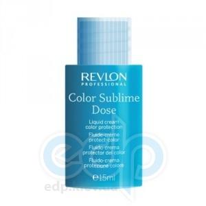 Revlon Professional - Interactives Color Sublime Dose Жидкий крем для защиты цвета - 30 х 15 ml