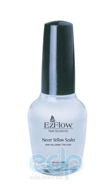 EzFlow - Нежелтеющее верхнее покрытие Ez Never Yellow Sealer Top Coat - 15 ml