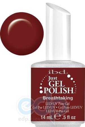 ibd - Just Gel Polish - Breathtaking Классический бордовый, глянец. № 555 - 14 ml
