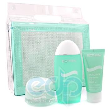 Biotherm -  Набор Aquatrio (Cleansing Gel 50 + Clarifying Lotion 125 + Aquasource Cream 50)