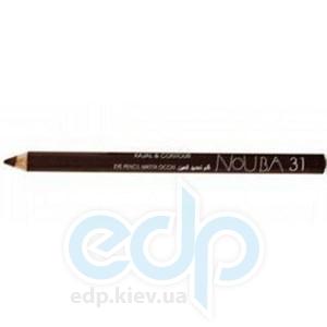 Контурный карандаш для глаз NoUBA -  Kajal and Contour Eye Pencil №31