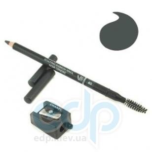 Карандаш для бровей Chanel -  Make Up Crayon Sourcils №60 Noir Cendre/Черный Пепельный