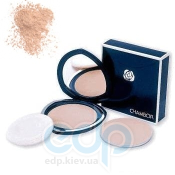Пудра для лица Chambor -  Silver Shadow Compact Powder №02 Розовый
