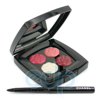 Палитра губных помад Chanel -  Exclusive Creation 4 Camelias De Chanel Limited Edition