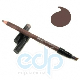 Карандаш контурный для бровей Shiseido - Natural Eyebrow Pencil №BR 603 светло-коричневый